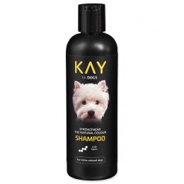 Šampūns suņiem – KAY Shampoo for White Colored Dogs, 250 ml