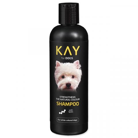 Шампунь для собак - KAY Shampoo for White Colored Dogs, 250 мл