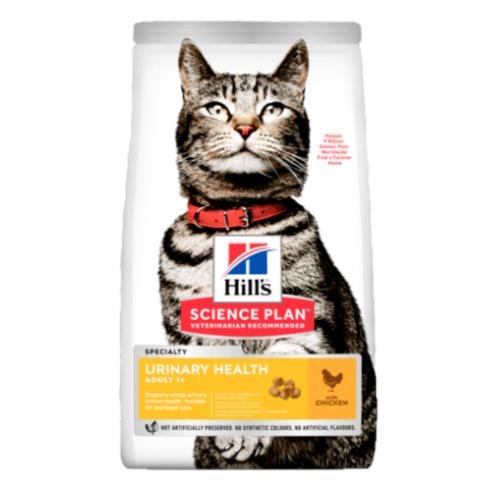 Корм для кошек - Hill's Science Plan Feline Adult Urinary Health Chicken, 1.5 кг