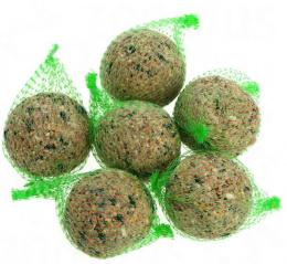 Корм для уличных птиц - жировые шарики, 5 шт.