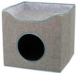 Домик для кошек – TRIXIE Kaya Cuddly Cave, 39 x 38 x 39 см, Grey