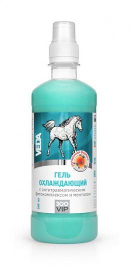 VEDA Antitraumatiskas iedarbības gēls ar zāļu ekstraktiem un mentolu, 500 ml