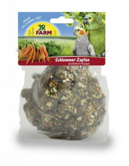 Gardums putniem - JR FARM Birds Tasty Cones Big Parakeets and Parrots, 195 g