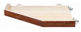 Аксессуар для клетки грызунов - Натуральное укрытие и платформа, 28*28 cm