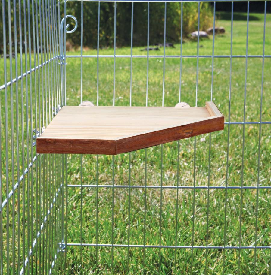Аксессуар для клетки грызунов - Натуральное укрытие и платформа, 28*28 см