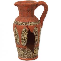 Декор для аквариума - Aqua Excellent Amphora orange, 8.2 см