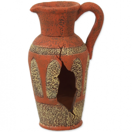 Dekors akvārijam - Aqua Excellent Amphora orange, 8.2 cm