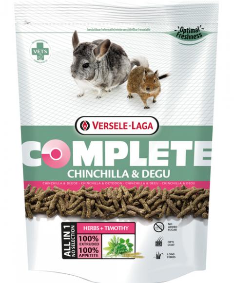 Barība šinšillām un degu - VERSELE-LAGA Complete Chinchilla and Degu, 500 g title=