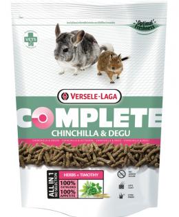 Barība šinšillām un degu - VERSELE-LAGA Complete Chinchilla and Degu, 500 g