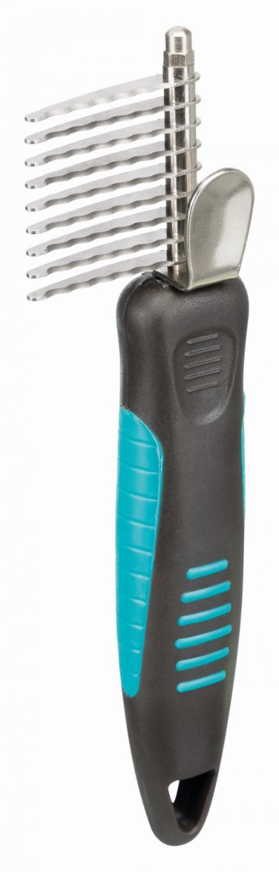 Pinku griezējs – TRIXIE De-matting Comb, 18 x 3,5 cm title=