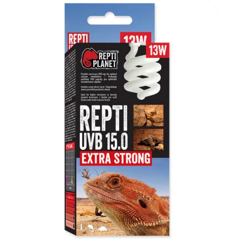 Лампа для террариумов - ReptiPlanet Repti UVB 15.0, 13W title=