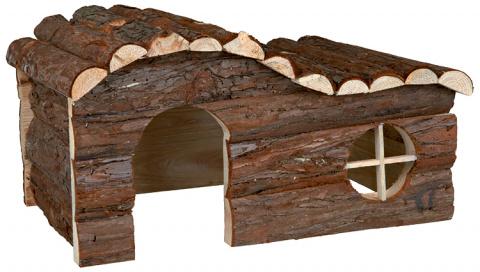 Деревянный домик для грызунов - Trixie Natural Living Hanna house, 43 x 22 x 28 см