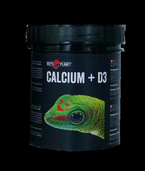 Пищевая добавка для рептилий - ReptiPlanet Calcium+D3, 125 г