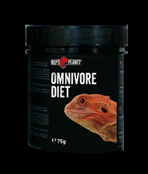 Barības piedeva reptiļiem - ReptiPlanet Omnivore diet, 75 g title=