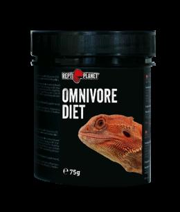 Barības piedeva reptiļiem - ReptiPlanet Omnivore diet, 75 g