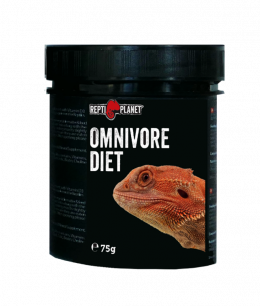 Пищевая добавка для рептилий - ReptiPlanet Omnivore diet, 75 г