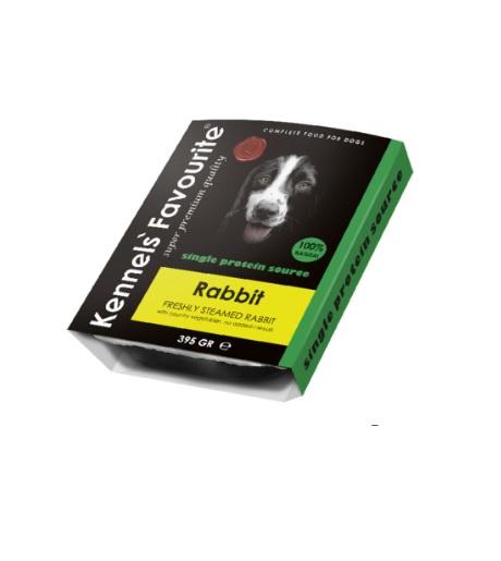 Консервы для собак - Kennels Favourite Rabbit, 395 г title=