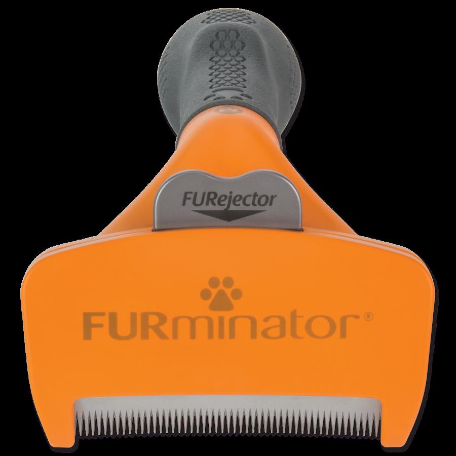 Расческа для собак - FURminator Undercoat deShedding tool, long hair, M