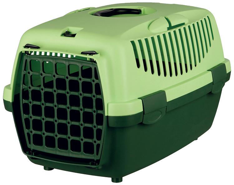 Транспортировочный бокс - Trixie Capri I, 48x32x31 cm, цвет - темно зеленый/светло зеленый