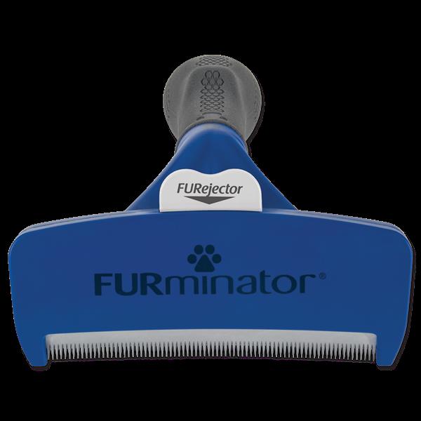 Расческа для собак - FURminator Undercoat deShedding tool, short hair, L