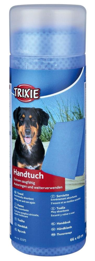 Dvielis suņiem - Trixie Towel/Dvielis, 66*43 cm, zils
