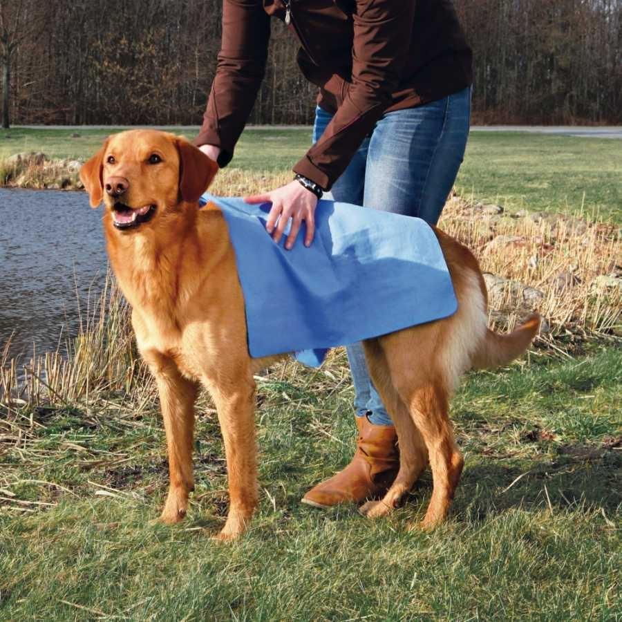 Полотенце для собак - Trixie Towel/Полотенце, 66*43 cm, синий