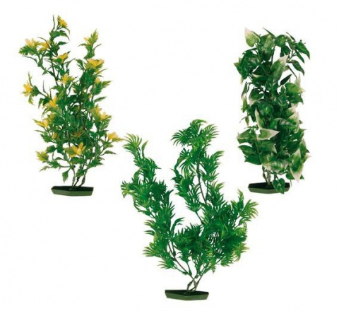 Dekoratīvs augs akvārijam - TRIXIE Assortment Plastic Plants, 25 cm