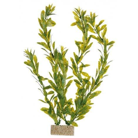 Декоративное растение для аквариума - Trixie Plants with Sand Base / Пластиковое растение на песочной основе M