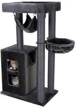 Mājiņa kaķiem – TRIXIE Amadeus Scratching Post XXL, 163 cm, Anthracite