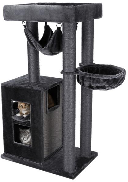 Mājiņa kaķiem - Trixie Amadeus XXL, 163 cm, melna