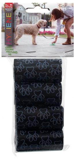 Пакетики для сбора экскрементов - Dog Fantasy Hygiene Replacement Bags, 4 шт.