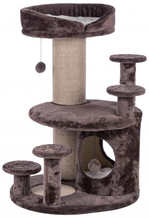 Mājiņa kaķiem – TRIXIE Emil, Senior Cat Scratching Post, 96 cm, Brown/Beige title=