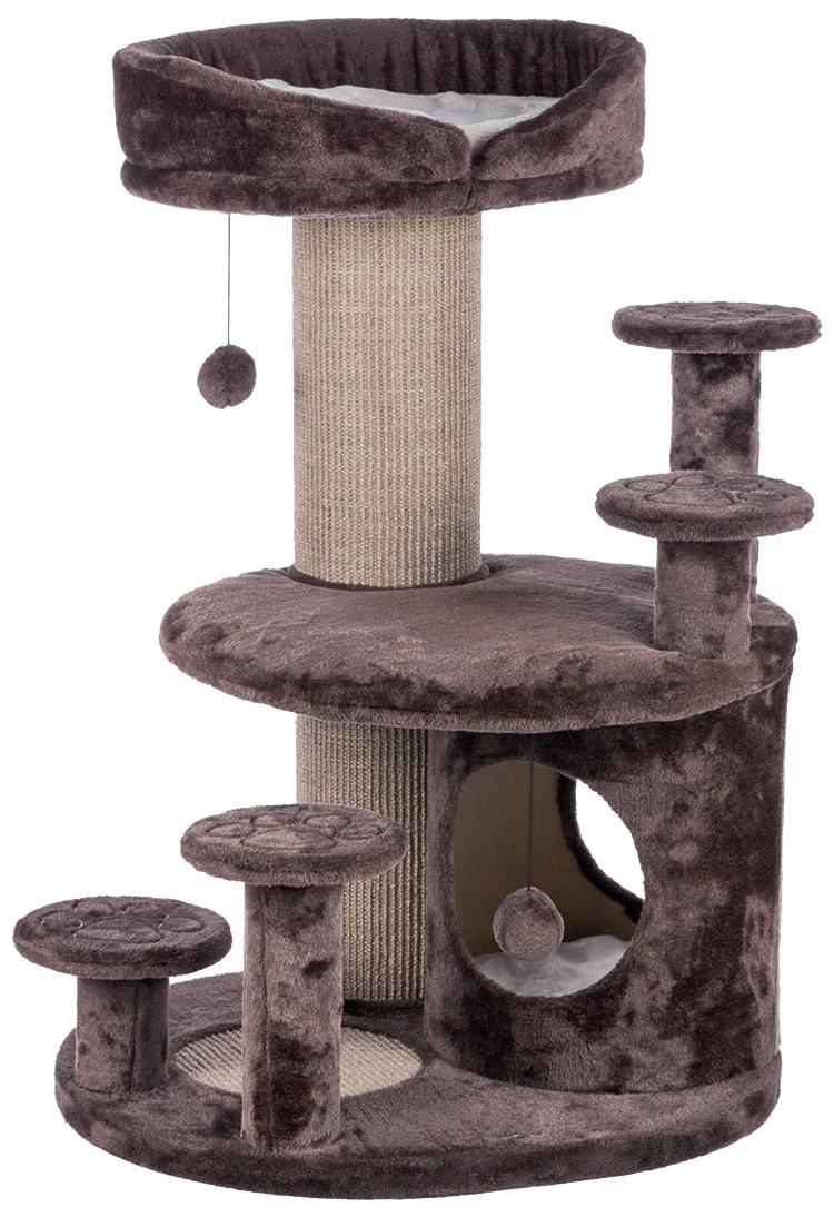 Mājiņa kaķiem – TRIXIE Emil, Senior Cat Scratching Post, 96 cm, Brown/Beige