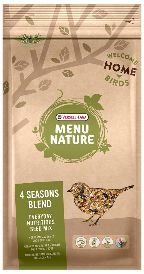 Barība savvaļas putniem - Versele-Laga Menu Nature 4 Seasons Blend, 1 kg