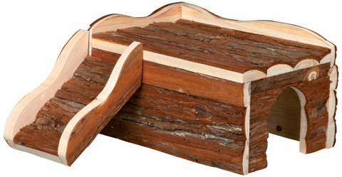 Деревянный домик для грызунов - Trixie Natural Living Ineke house, 30 x 16 x 32 см