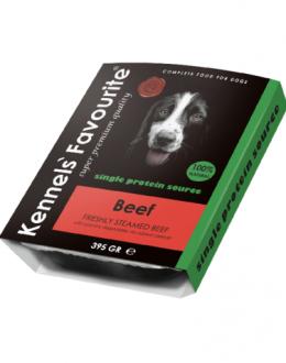 Konservi suņiem - Kennels` Favourite Irish Beef, 395 g