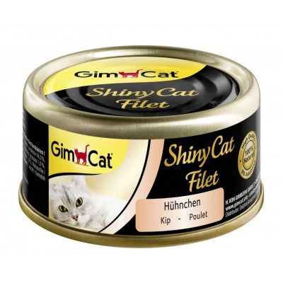 Консервы для кошек - GimCat ShinyCat Filet Chicken, 70 г