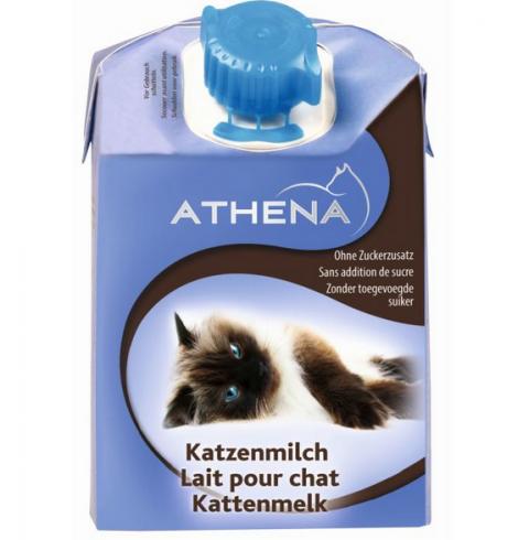 Papildbarība kaķiem - Athena Milk, 200 ml title=