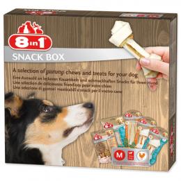 Подарочный набор для собаки - 8in1 Snackbox, M