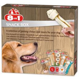 Dāvanu komplekts sunim - 8in1 Snackbox, L