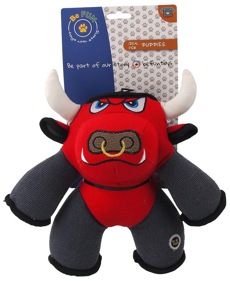 Rotaļlieta suņiem – Be Fun Angry Bull, 25 cm