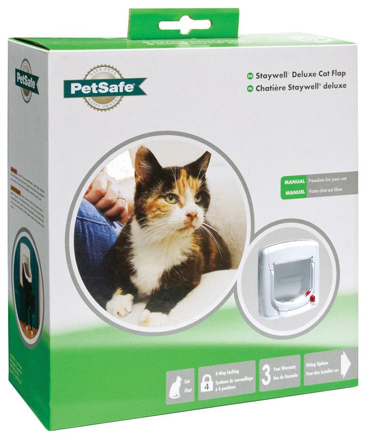 Durvis dzīvniekiem - Staywell Cat Flap 300 (balta)