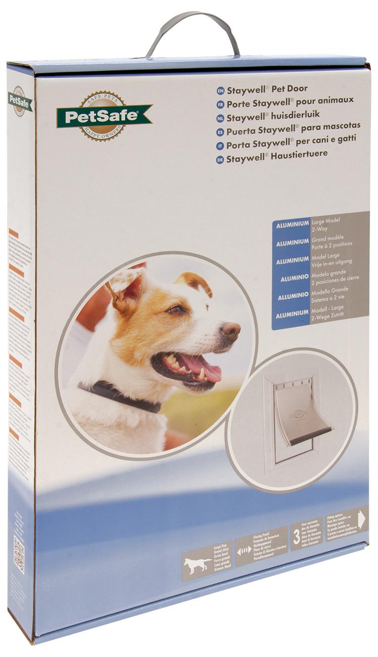 Durvis dzīvniekiem – Pet Safe Alluminium 640, 50,2 x 32,9 cm
