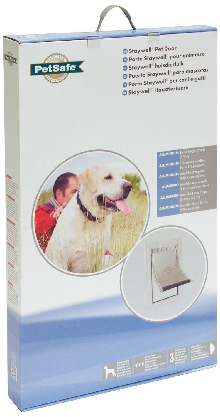 Durvis dzīvniekiem – Pet Safe Alluminium 660, 69,2 x 41,7 cm