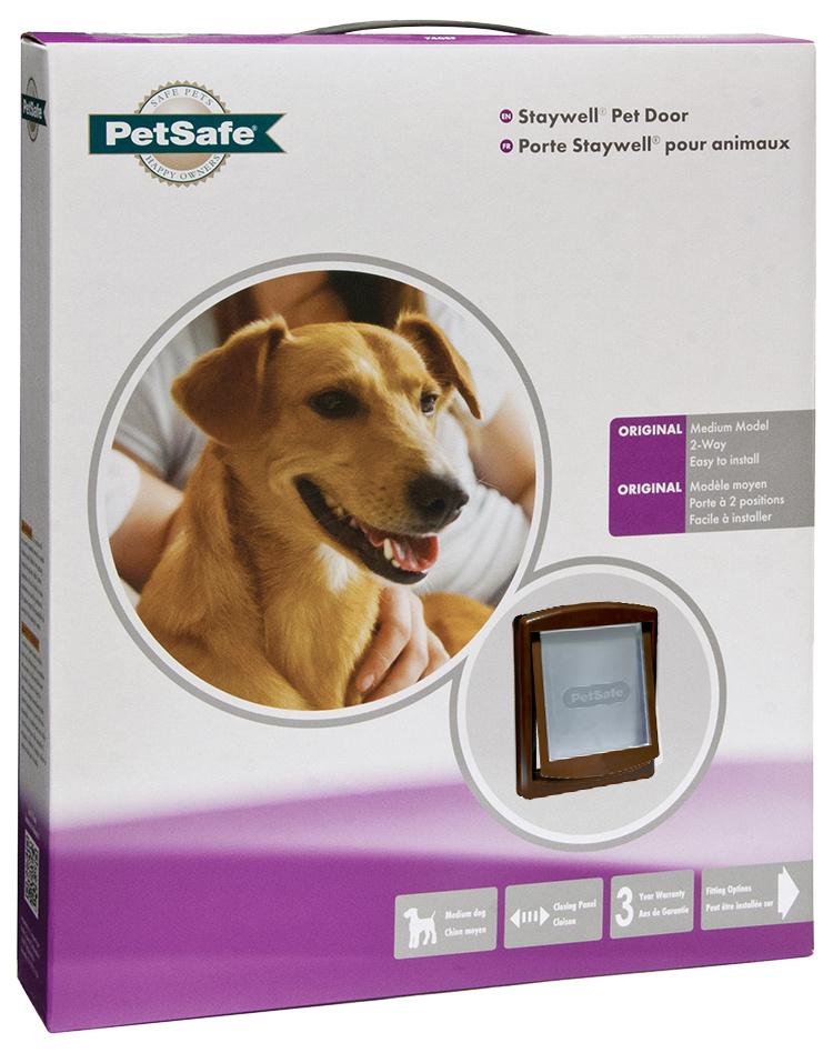 Дверца для животных - Staywell Pet Door 755 (коричневый)