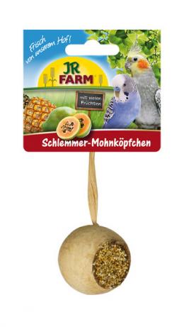 Gardums putniem - JR Birds Gourmet Poppy Head, 75 g