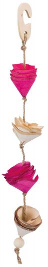 Игрушка для птиц - Toy, natural materials, 35 cm