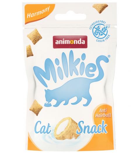 Gardums kaķiem - Milkies Crunchy Pillows Harmony, 30 g