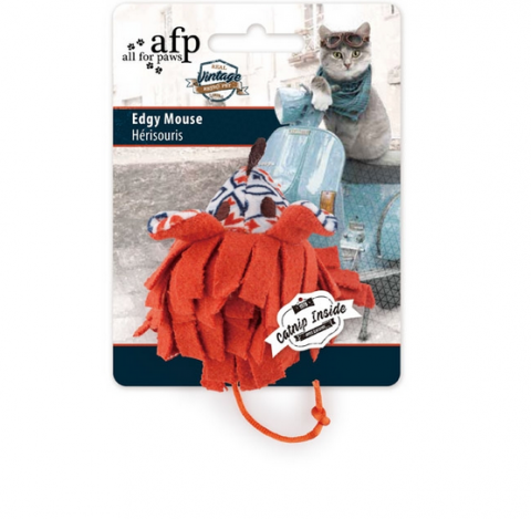 Игрушка для кошек - All for Paws Vintage Pet Edgy Mouse title=