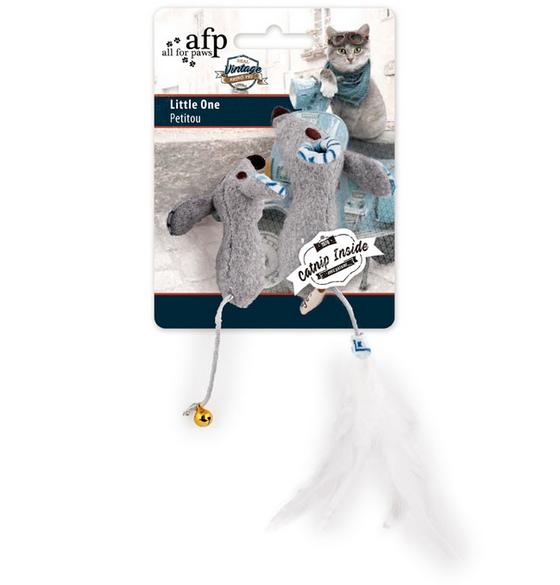 Rotaļlieta kaķiem - All for Paws Vintage Pet Little One